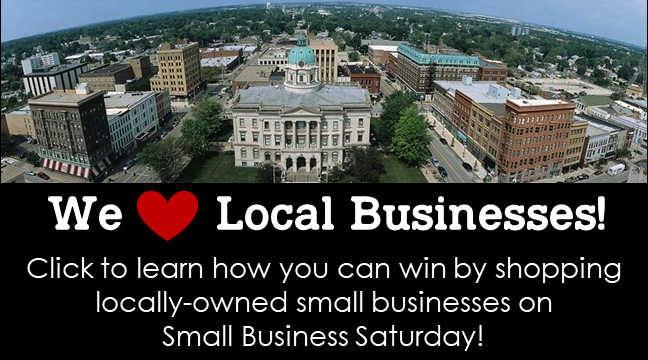 we love local small biz saturday contest nov 2020